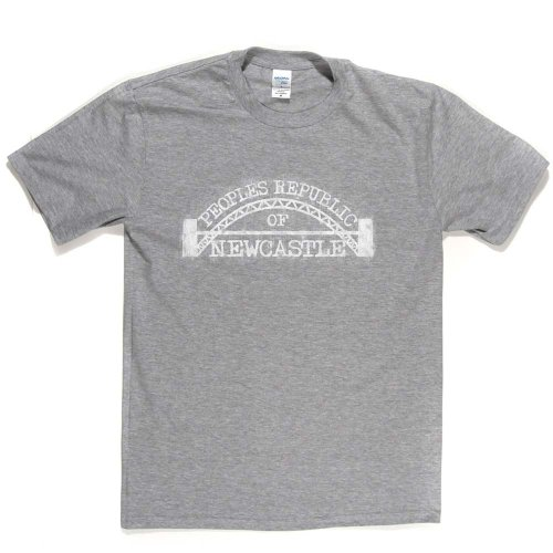 Peoples Republic Newcastle City Upon Tyne T-shirt Aschgrau