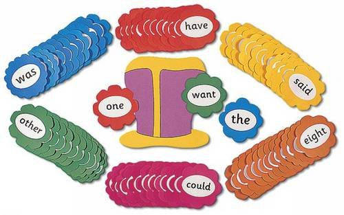 Jolly Phonics Tricky Word Wall Flowers: in Print Letters: The Art of Harmony with Nature and Lunar Cycles