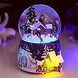 Xizi Exklusive Schnee-Kugel-Kristallkugel-kreative Schreibtisch-Verzierungen