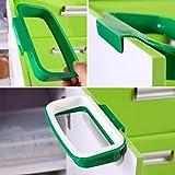 Ularma Küchenschrank Küchen Müllsackständer Plastik Lagerung Hängeleiste Hängende Trash Müllsäcke