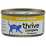 Thrive Cat Food Complete Food - Chicken Breast 75g. (Pack of 6)