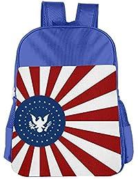 fregrthtg Kids Backpacks Fashion School Bag For Boys & Girls Eagle Argentina Flag