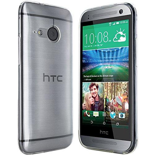 Moodie Silikonhülle für HTC One Mini 2 Schutzhülle Tasche - Transparent (Htc One Mini 2 Case)