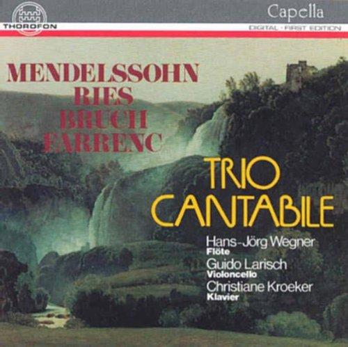 Trios für Flöte, Cello, Klavier