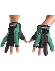 Lelantus Profesionales de múltiples colores que pescan los guantes para la pesca un par