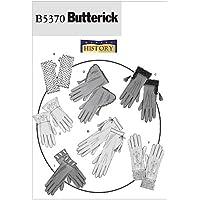 Butterick Patterns B5370 - Patrones para coser guantes (1 unidad), color blanco