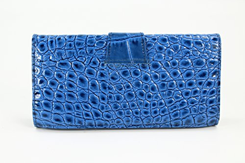 Belli , Portafogli  Donna Blau lack kroko