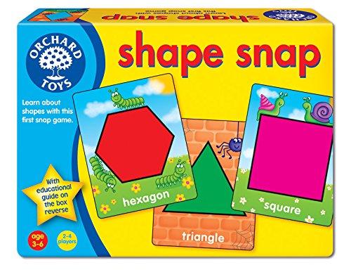 Orchard Toys Shape Snap - Juego para aprender las formas (en inglés)