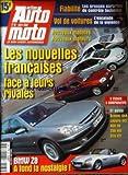 ACTION AUTO MOTO [No 65] du 01/03/2000 - LES NOUVELLES FRANCAISES FACE A LEURS RIVALES CITROEN PICASSO RENAULT SCENIC RENAULT CLIO DTI 9 ESSAIS - 5 COMPARATIFS ET AUSSI SCENIC 4X4 LAGUNA dCi 406 V6 206 HdI CLIO dTI BMW Z8 - A FOND LA NOSTALGIE FIABILITE - LES SURPRISES DU CONTROLE TECHNIQUE VOL DE VOITURES - L' ESCALADE DE LA VIOLENCE NOUVEAUX MODELES - NOUVEAUX MOTEURS