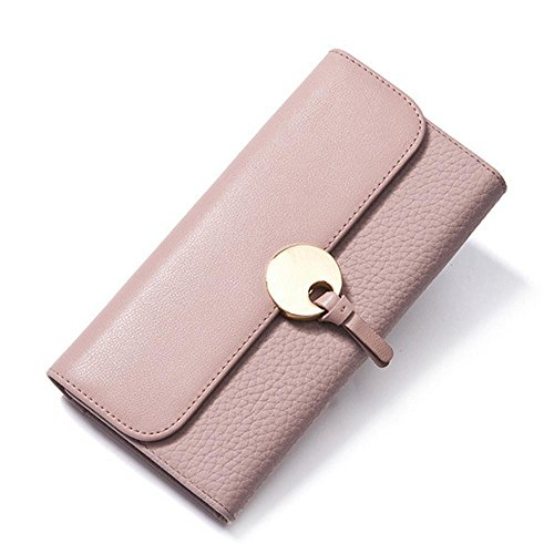 Penao Damen Casual Leder Brieftasche Mobile Phone Tasche mehrere Karte etwas Brieftasche - Mehrere Karten Taschen