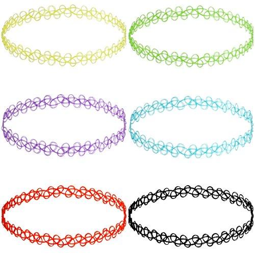 munkimix-caoutchouc-collier-chaine-colore-double-ligne-henne-tatouages-choker-collier-etendue-elasti