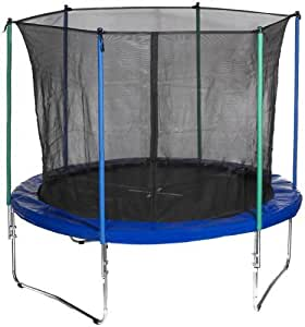 hudora 65150 trampoline with safety net 305 cm 3 feet. Black Bedroom Furniture Sets. Home Design Ideas