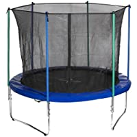 Hudora 65150 Trampoline With Safety Net 305 cm, 3 Feet