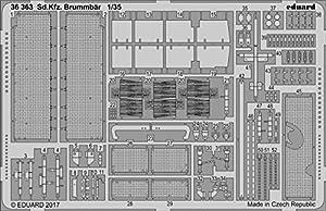 Eduard EDBIG3589 Big Ed - Juego de Herramientas (1:35-SD.Kfz) 166 Brummbär (Tam) - Accesorios de Grabado fotográfico