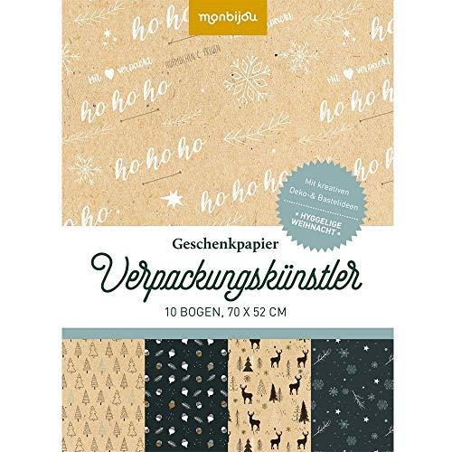 Verpackungskünstler - Hyggelige Weihnacht: Geschenkpapier (monbijou)