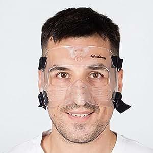 qiancheng prot ge nez masque de protection du visage l2 l sports et loisirs. Black Bedroom Furniture Sets. Home Design Ideas