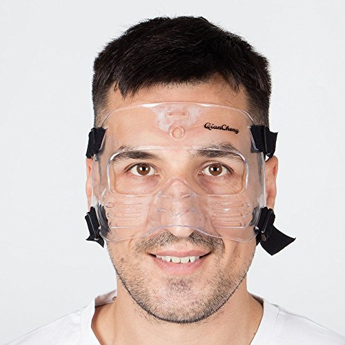 QianCheng maschera protettiva per naso e viso L2 (L)