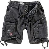Surplus Men Cargo Shorts Airborne Vintage, Größe:L, Farbe:Anthrazit