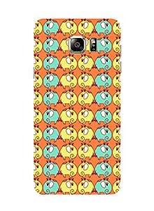 Elephant Trail Orange Samsung Note 5 Case