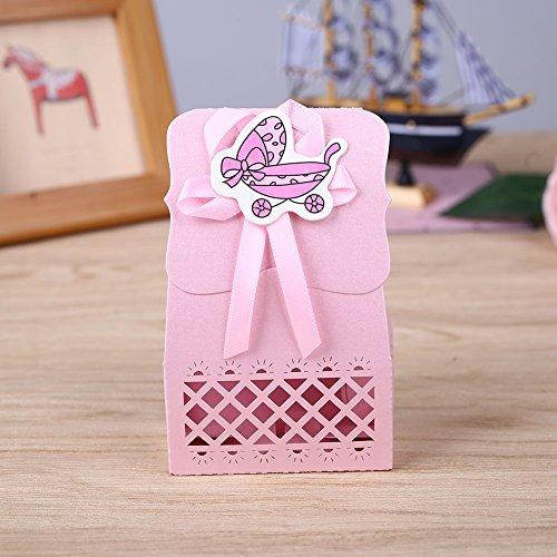 d Geburtstag nette Plastik Milchflasche Feeder Süßigkeit-Kasten-Behälter-Speicher-Geschenk (Geschenk-taschen Für Baby-dusche-bevorzugungen)