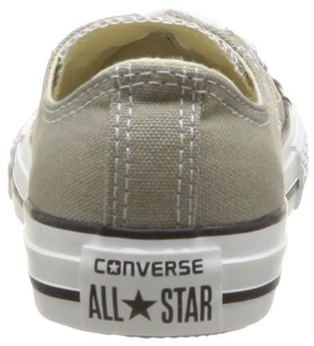 Converse Ctas Season Ox, Baskets mode mixte enfant Gris (Vieil Argent)