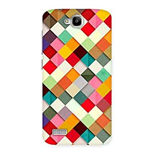 Impressive Color Ribbons Back Case Cover for Honor Holly
