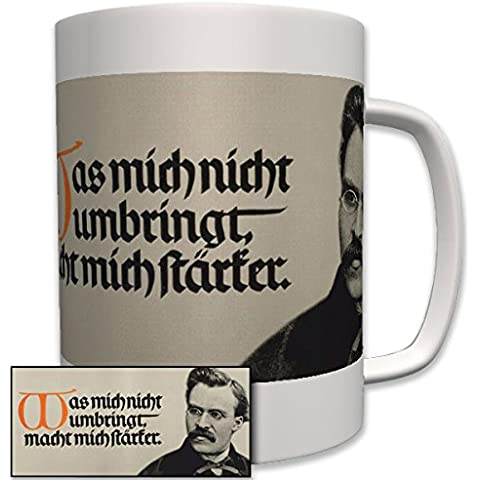Friedrich Nietzsche–Philosoph clásico philologe resistente al calendario musial de Compositor–Taza Café # 6406