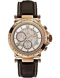 Guess Herren-Armbanduhr XL Chronograph Quarz Leder X44001G1