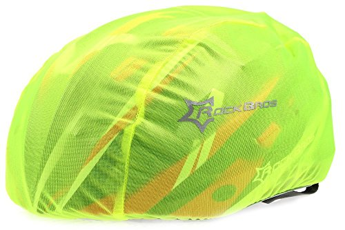 Hysenm incluye casco ciclismo alta visibilidad impermeable