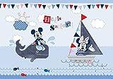 Olimpia Design Fototapete Disney Mickey Mouse, 1 Stück, 831P8