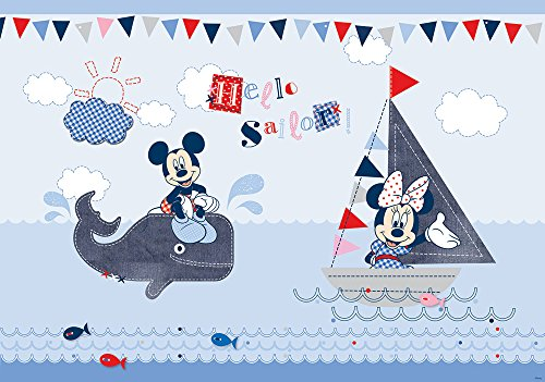 Olimpia Design Fototapete Disney Mickey Mouse, 1 Stück, - Kinder, Disney Mädchen, Tapete,