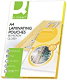 Best Laminating Pouches - Q-Connect A4 80 Micron Laminating Pouch Review