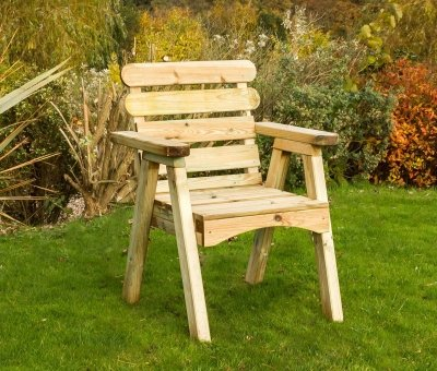 zest4leisure Abbey Stuhl – Holz