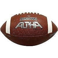 Spalding fútbol compuesto de Alpha, marrón