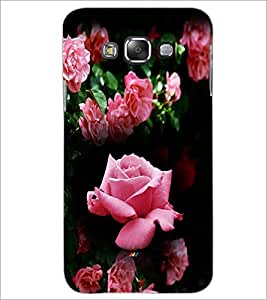 PrintDhaba Roses D-4163 Back Case Cover for SAMSUNG GALAXY A7 (Multi-Coloured)