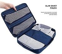Gison's Travel Suitcase Organizer Luggage Bag Clothes Case Portable Pouch Slim Shirt Pouch