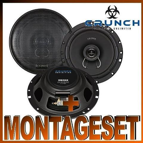 Crunch DSX 62 haut-parleurs pour Audi A4 Type B5 Sedan