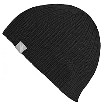 Trespass Womens/Ladies Bonno Knitted Beanie Hat (One Size) (Black)