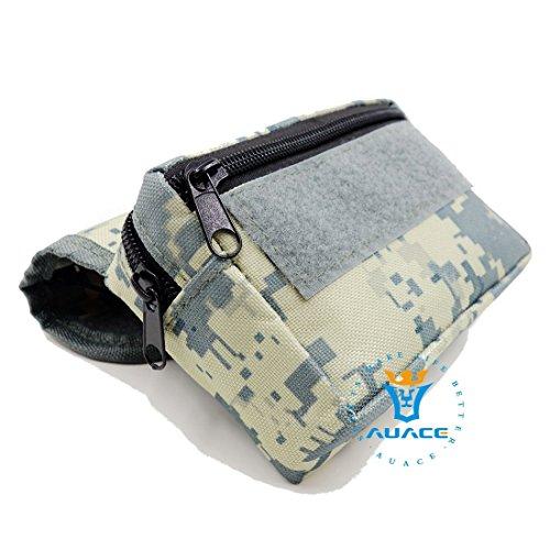 Multifunktions Survival Gear Tactical Beutel MOLLE POUCH Klettverschluss-Karte Tasche, Outdoor Camping Tragbare Travel Bags Handtaschen Werkzeug Taille Bag Handy Pouch ACU