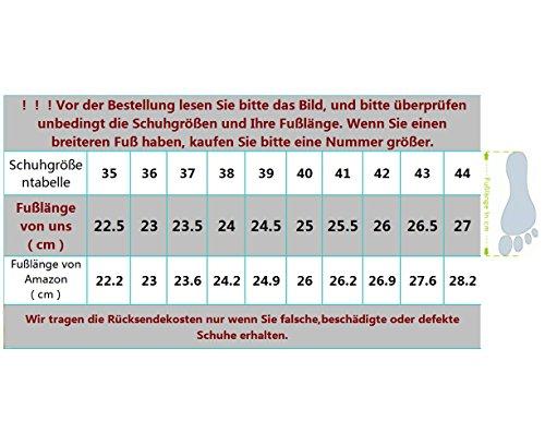 Dayiss Moderne Damen Tanzschuhe jazzdance Schuhe Tanz Sneaker Websneaker weichen Sohle Sport Schuhe 3 Farben Schwarz-Gold