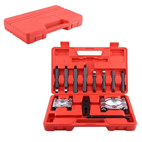 12tlg Lagerabzieher Lager Set Trennmesser Polradabzieher Satz Abzieher Werkzeug