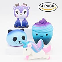 Yetech Squishy Kawaii, Squishy Juguete Jumbo Galaxy Squishy Unicornio Squishies Jumbo Squishies Slow Rising Squishes