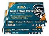 Inox Nano Llanta sellado de Juego, 2x–Sellado para lacado de aluminio y acero Llantas