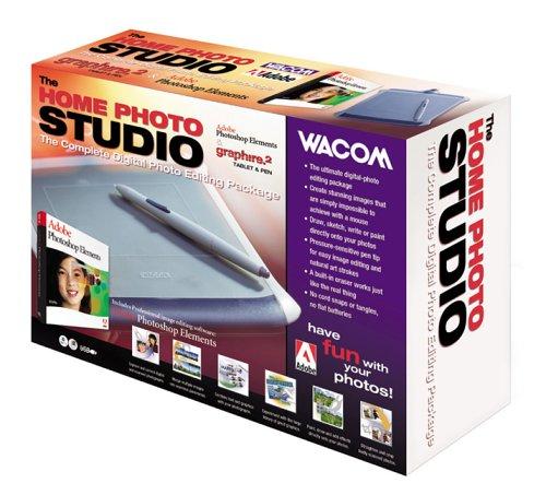 Home Photo Studio: Adobe Photoshop Elements & Wacom Graphire Tablet and Pen Bundle Pen Bundle