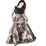 Vaankosh Fashion Satin Printed Lehenga