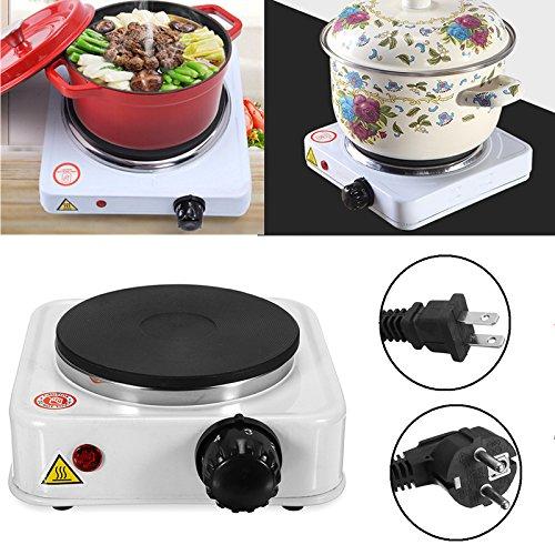 LaDicha 500W Mini Electric Herd Hot Plate Brenner Portable Wärmer Kaffee Heizung Reisen Kochgeräte - 220V (Wärmer Brenner)