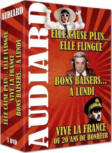 Coffret Audiard : Elle cause plus... elle flingue & Vive La France & Bons baisers A lundi