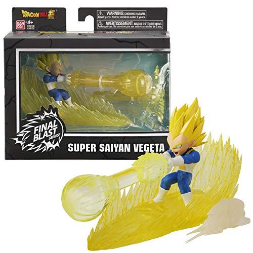 Dragon Ball-36152 Figura Vegeta Super Saiyan Final Blast Series, Multicolor (Bandai 36152)