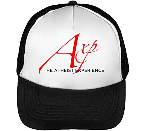 Atheist Experience Axp Men's Baseball Trucker Cap Hat Snapback Black White