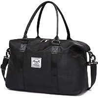 Weekend Bag for Women Overnight Bag Travel Duffel Bag Carry on Bag Holdalls for Women Sports Bag Gym Bag Weekender Tote…